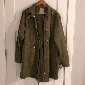 Zara Long Army Jacket